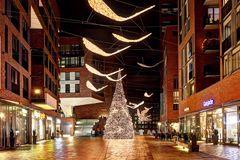 Weihnachtsbaum Hafencity