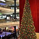 Weihnachtsbaum im Einkaufszentrum Glatt