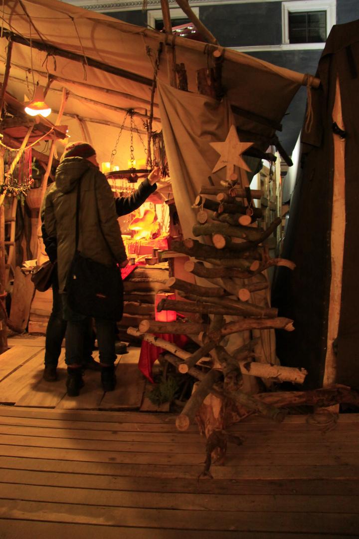 weihnachtsbaum mal anders foto bild natur kreativ stillleben natur bilder auf fotocommunity. Black Bedroom Furniture Sets. Home Design Ideas