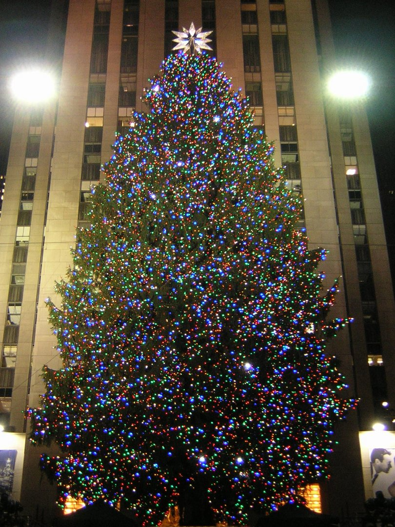 weihnachtsbaum rockefeller center 2008 2 foto bild. Black Bedroom Furniture Sets. Home Design Ideas