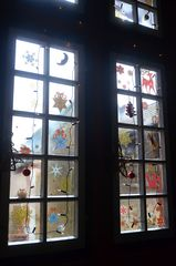 Weihnachtsdeko in der Ronneburg # 7309