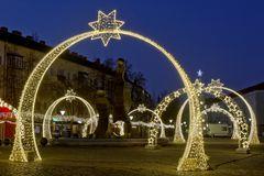 Weihnachtsdekoration in Dessau