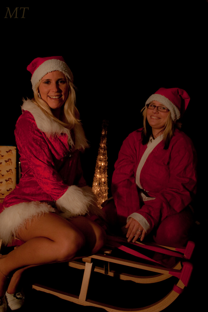Weihnachtsfrauen