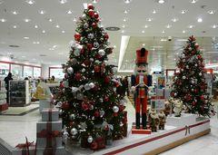 Weihnachtsglanz im Kaufhof am Wehrhahn