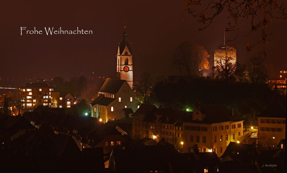 Weihnachtsgrüße aus Laufenburg