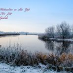 Weihnachtsgrüße von der Oste