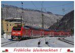 Weihnachtsgruß an die Eisenbahnfotografen der fc