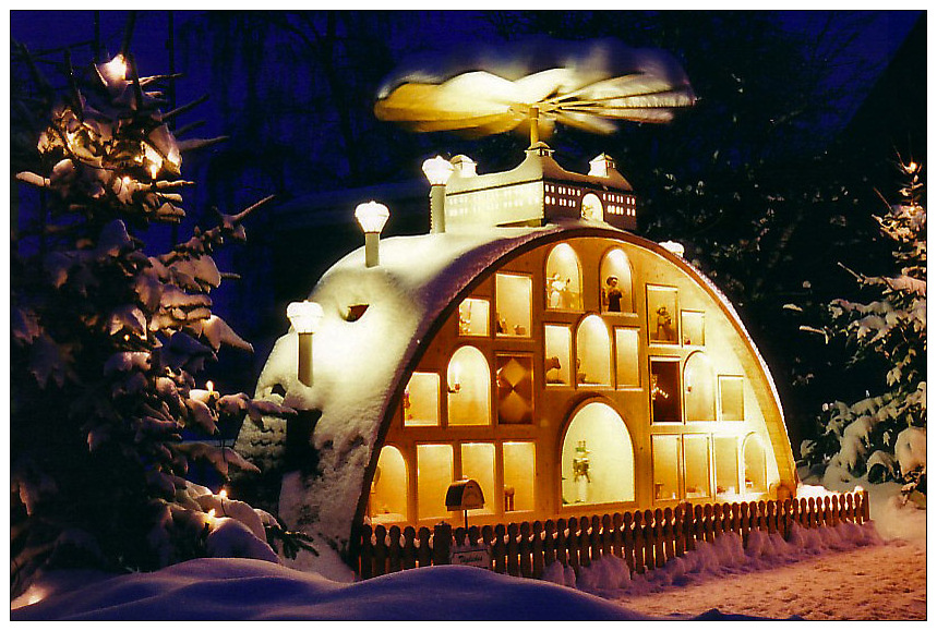 Weihnachtsgruß aus dem Erzgebirge...