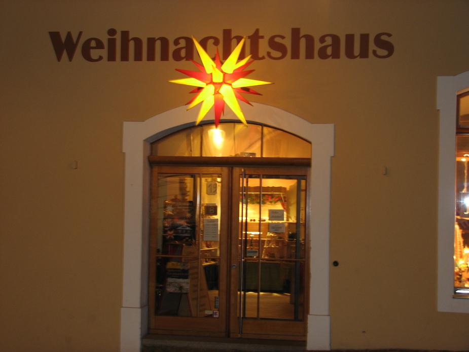 Weihnachtshaus in Görlitz