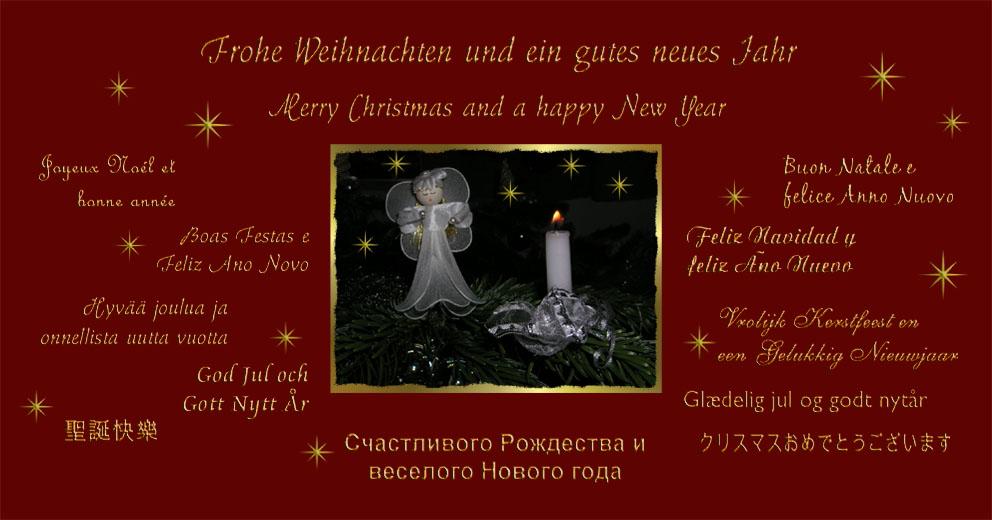 Weihnachtskarte 2005 foto bild feste spezial bilder auf fotocommunity - Weihnachtskarte englisch ...