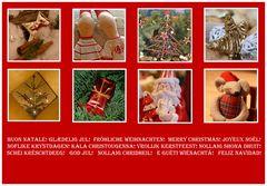 Weihnachtskarte 2009 - 8er