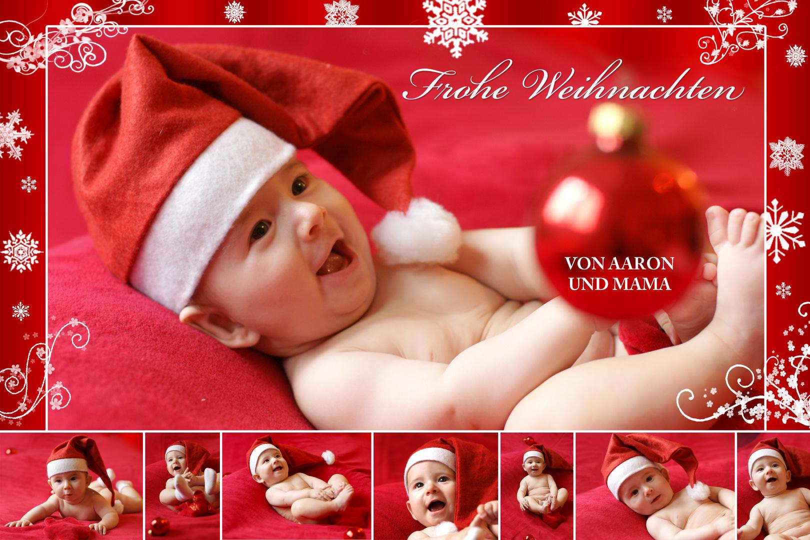 Weihnachtskarten Babyfoto.Weihnachtskarte Foto Bild Kinder Babies Portraits Bilder Auf