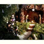 Weihnachtskrippe auf bretonisch... gesehen in Locronan/Finistère/Bretagne