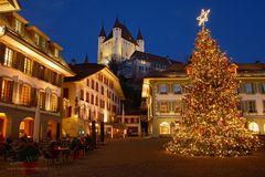Weihnachtsmagie in Thun
