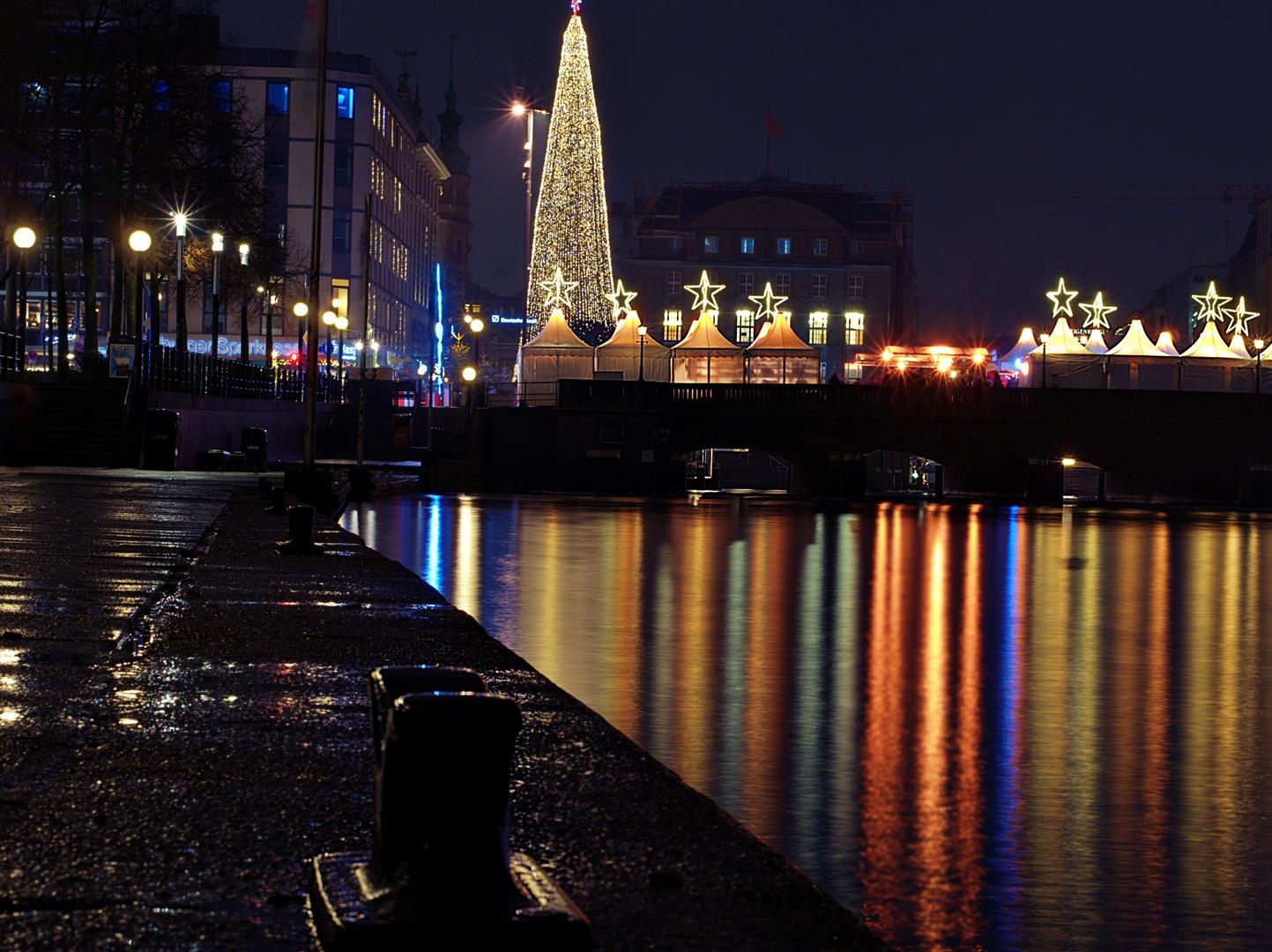 Jungfernstieg Weihnachtsmarkt.Weihnachtsmarkt Am Jungfernstieg Foto Bild Deutschland