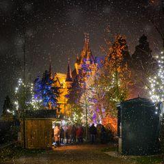 Weihnachtsmarkt auf der Drachenburg