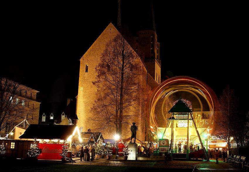 Bielefelder Weihnachtsmarkt.Weihnachtsmarkt Bielefeld Foto Bild Emotionen Motive