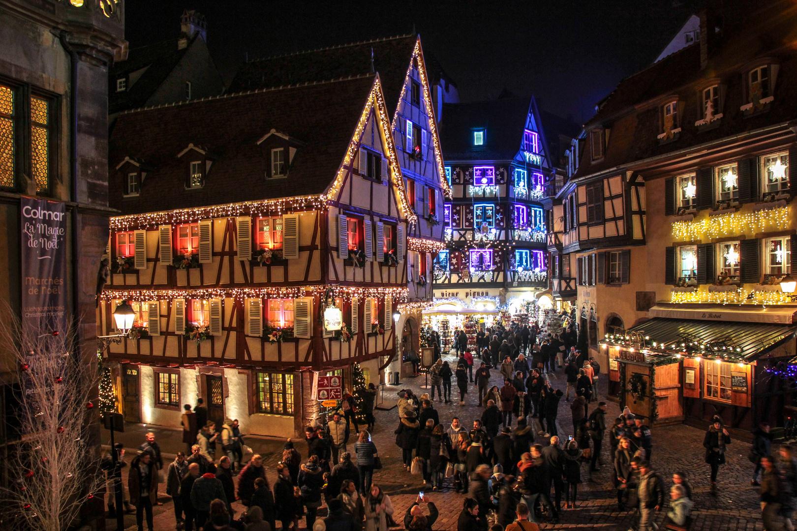Colmar Weihnachtsmarkt.Weihnachtsmarkt Colmar Foto Bild Fotos Canon City Bilder Auf