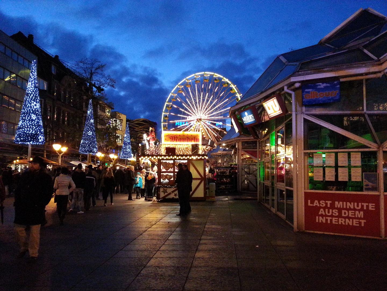 Weihnachtsmarkt Duisburg Foto & Bild | deutschland, europe ...