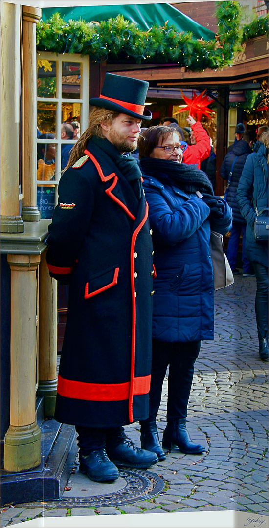 * Weihnachtsmarkt-Eskorte *
