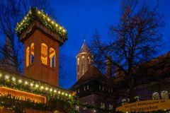 Weihnachtsmarkt im Burggraben - Braunschweig