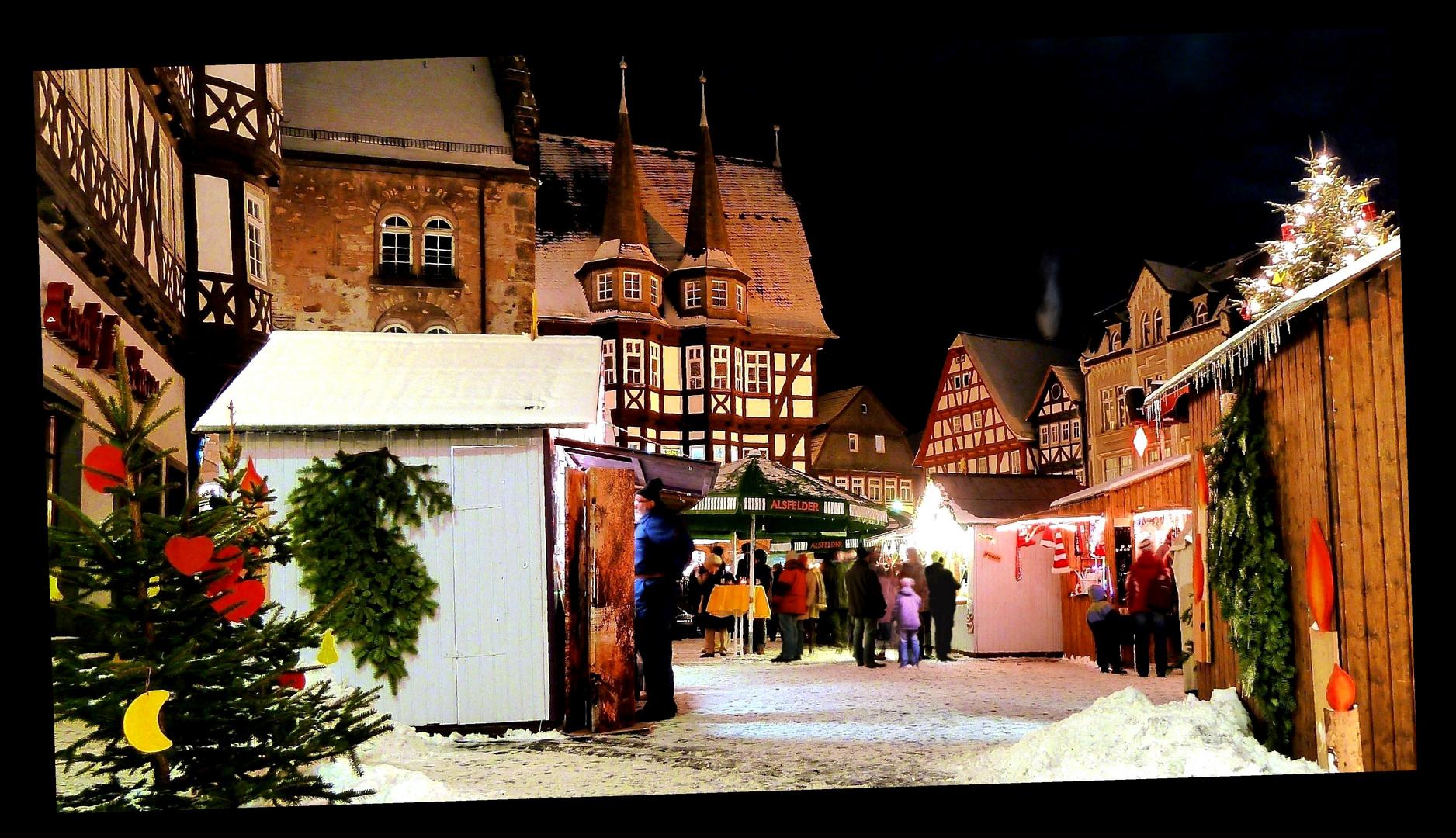 Alsfeld Weihnachtsmarkt.Weihnachtsmarkt In Alsfeld Foto Bild Architektur Architektur
