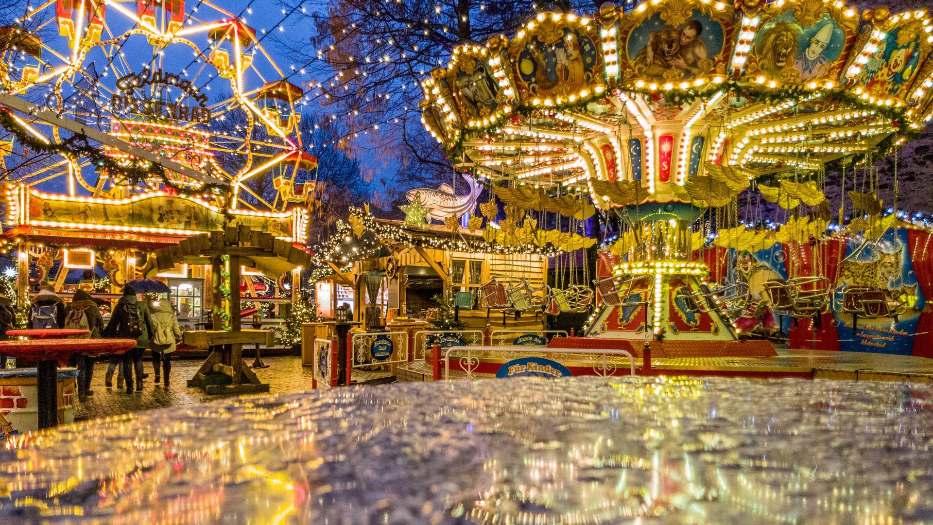 Bielefelder Weihnachtsmarkt.Weihnachtsmarkt In Bielefeld Foto Bild Weihnachtsmarkt
