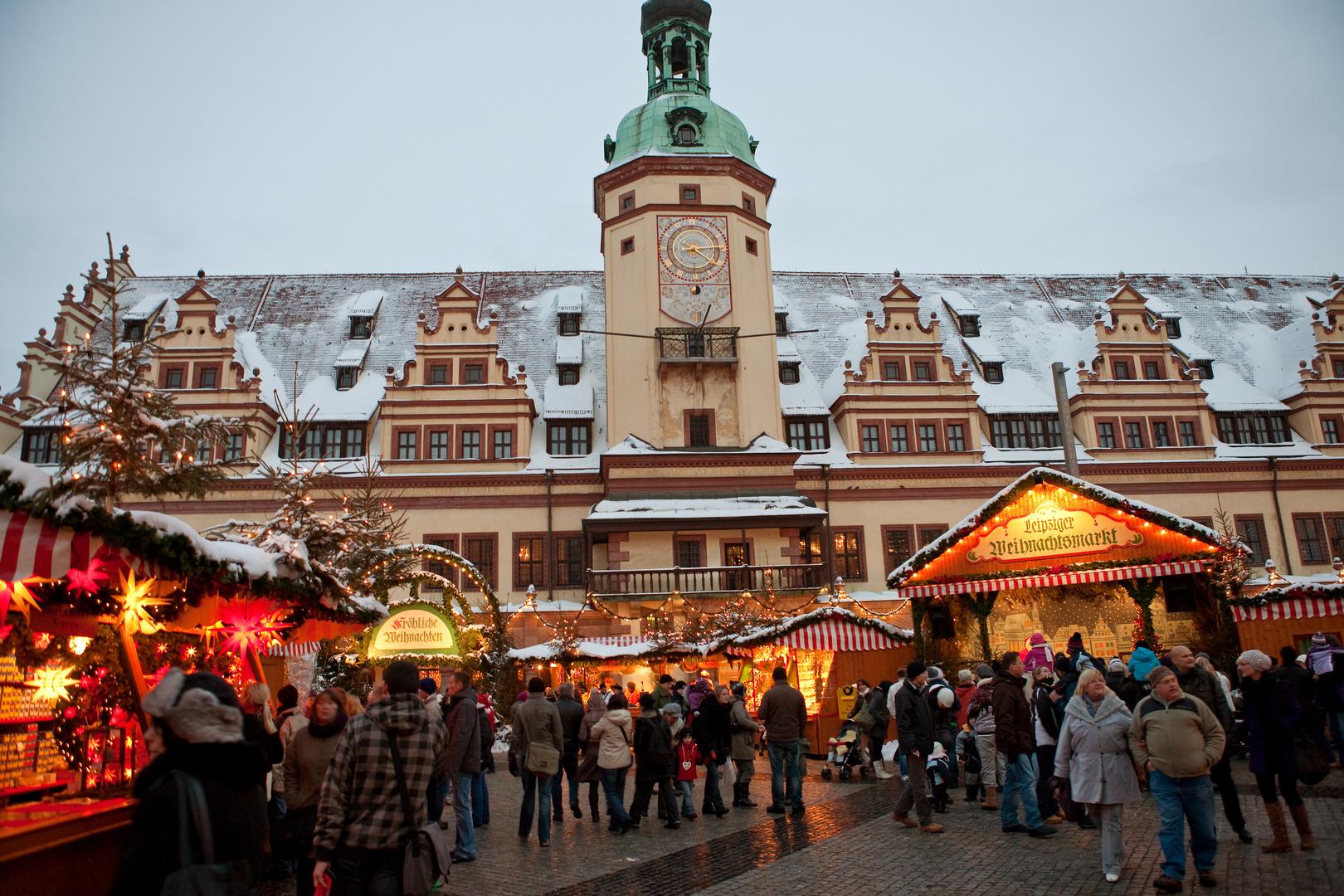 Weihnachtsmarkt Leipzig.Weihnachtsmarkt In Leipzig Foto Bild Deutschland Europe