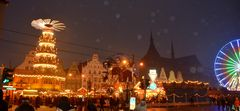 Weihnachtsmarkt in Rostock 2013