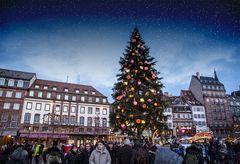Weihnachtsmarkt in Straßburg