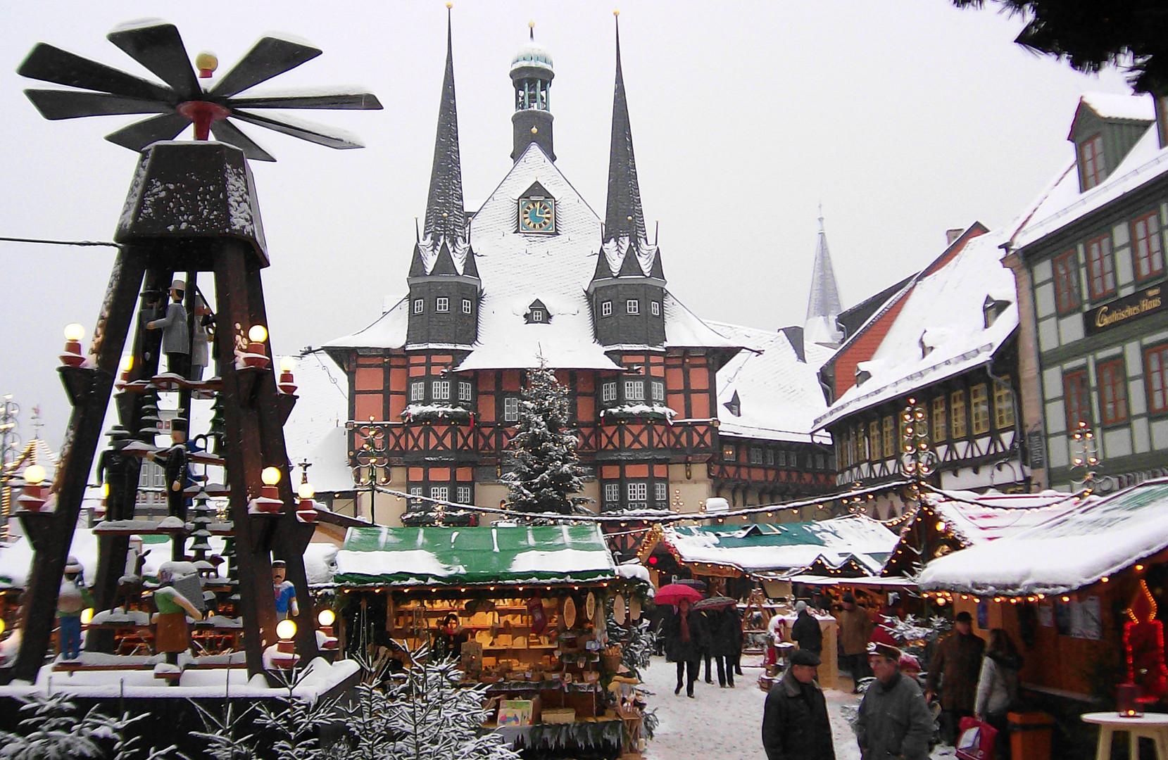 Wernigerode Weihnachtsmarkt.Weihnachtsmarkt In Wernigerode Foto Bild Kunstfotografie