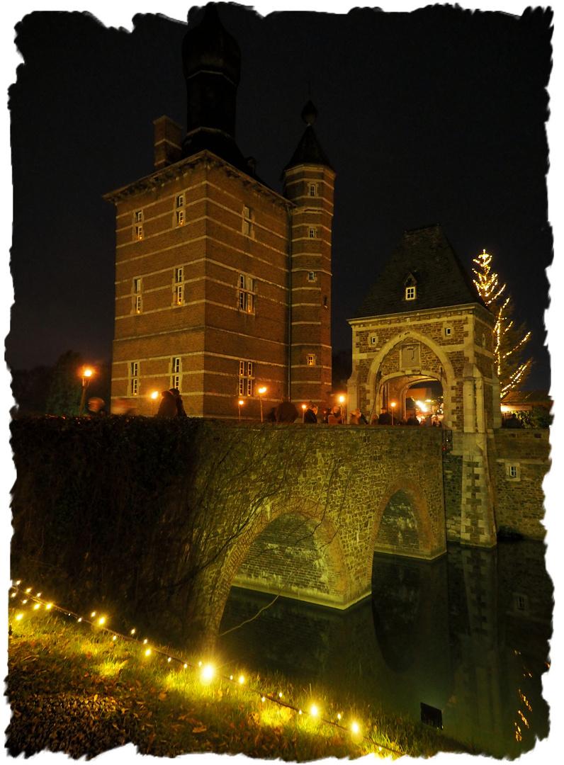 Weihnachtsmarkt Schloss Merode.Weihnachtsmarkt Schloss Merode Foto Bild Spezial Schloss