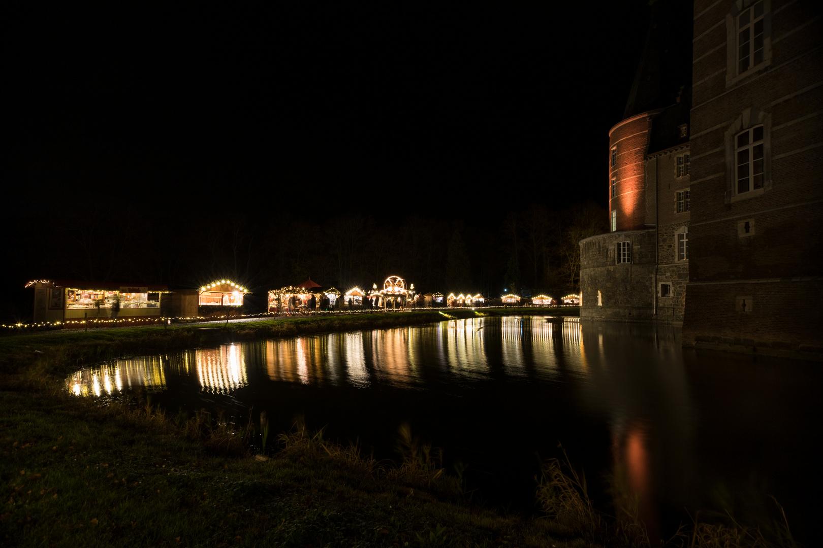 Weihnachtsmarkt Schloss Merode.Weihnachtsmarkt Schloss Merode 5 Foto Bild Deutschland Europe