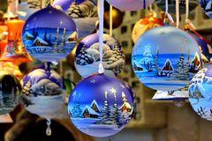 Weihnachtsmarkt-Schnick-Schnack.