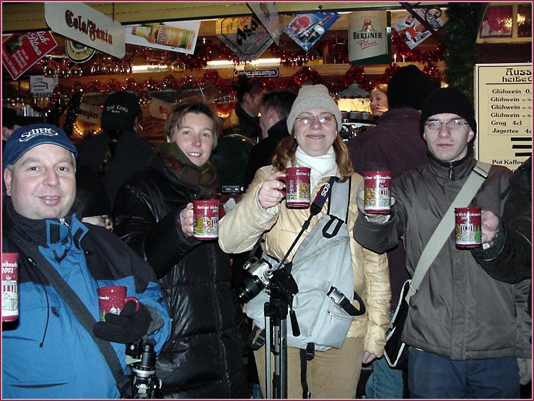 Weihnachtsmarkt-Treffen 14.12.02