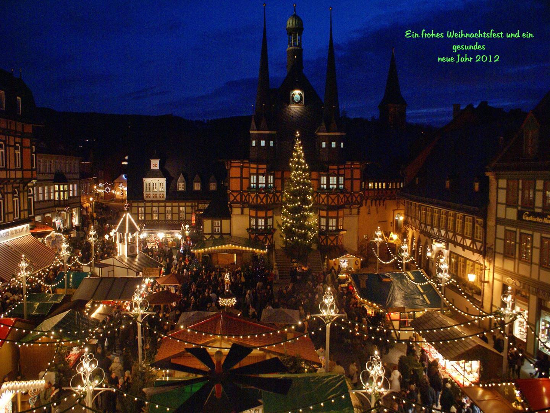 Wernigerode Weihnachtsmarkt.Weihnachtsmarkt Wernigerode Foto Bild Jahreszeiten Winter Harz