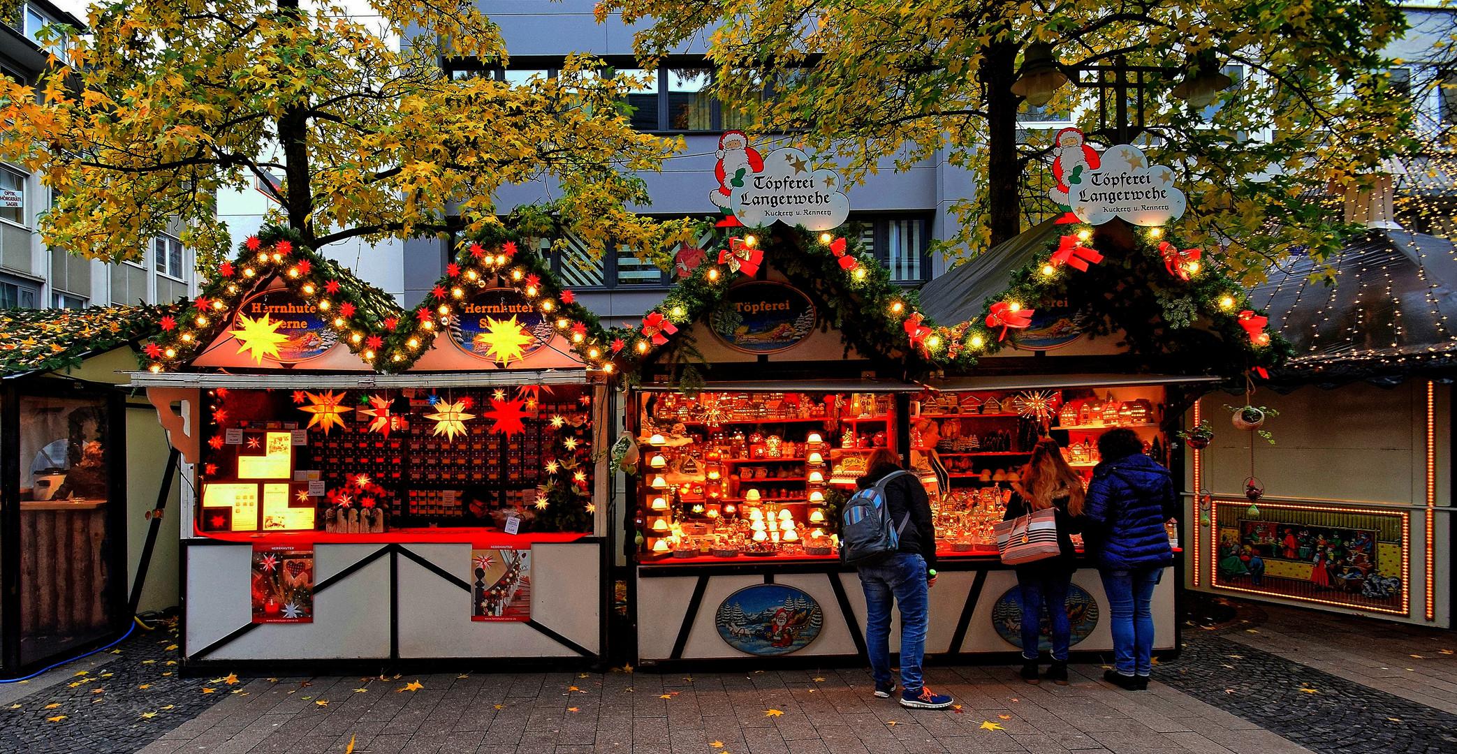 Weihnachtsmarkt Wuppertal Elberfeld 2021