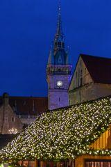 Weihnachtsmarkt zur Blauen Stunde - Braunschweig