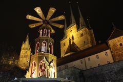 Weihnachtspyramide in Erfurt