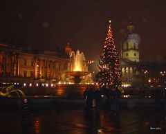 Weihnachtsstimmung am Trafalgar