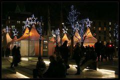 Weihnachtsstimmung an der Alster - Christmas mood at the Alster