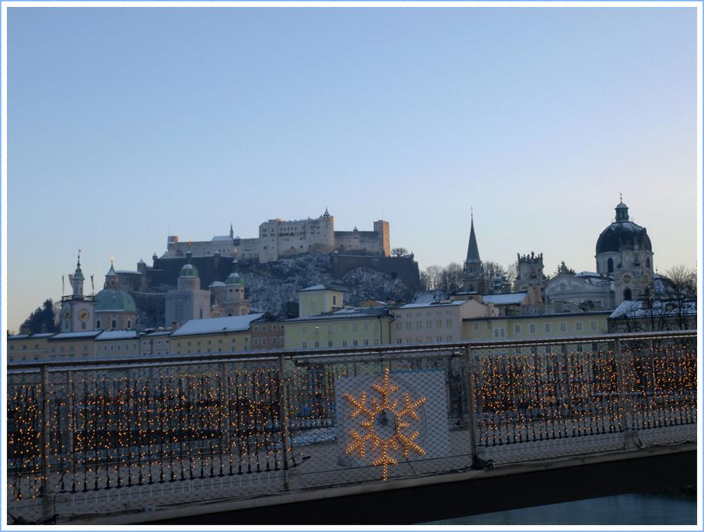 Weihnachtsstimmung in Salzburg