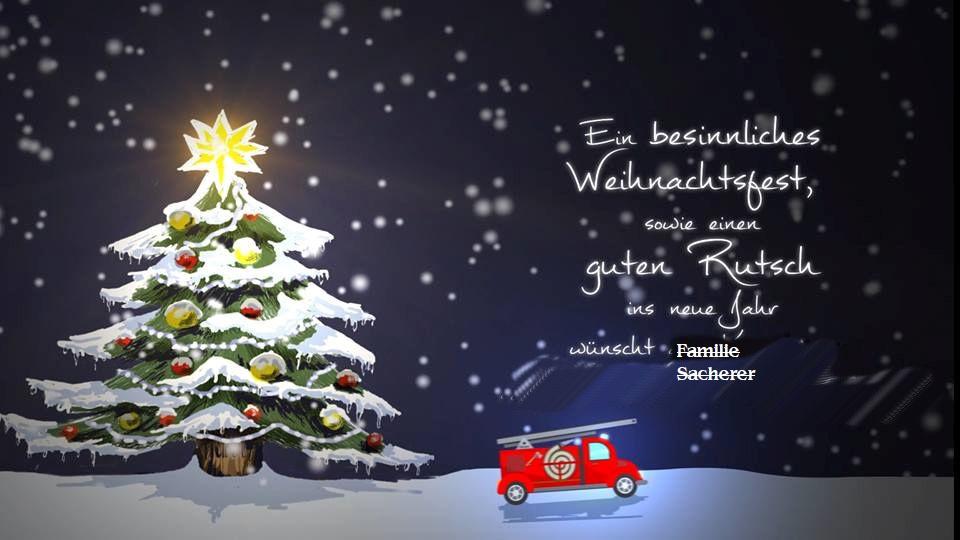 Weihnachtswünsche I.