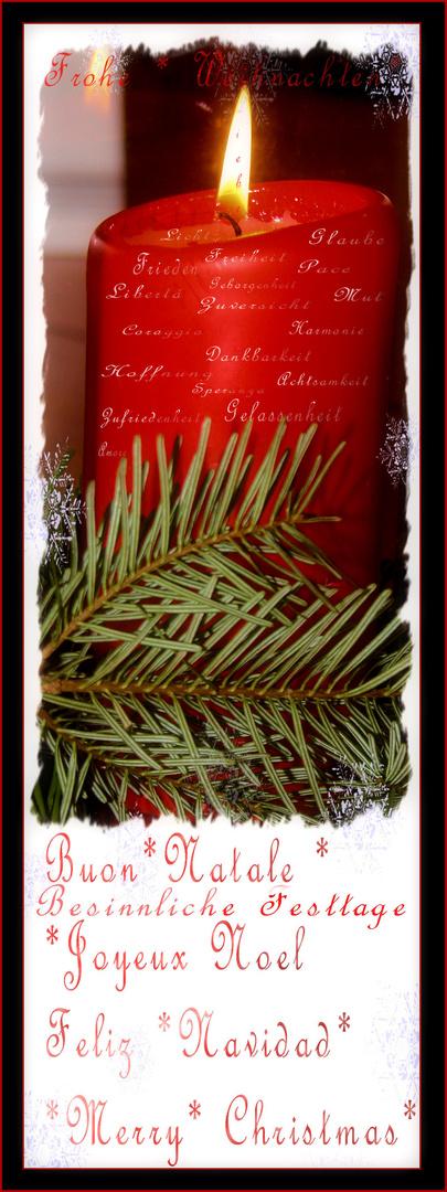 Weihnachtszeit & Besinnliche Feiertage.