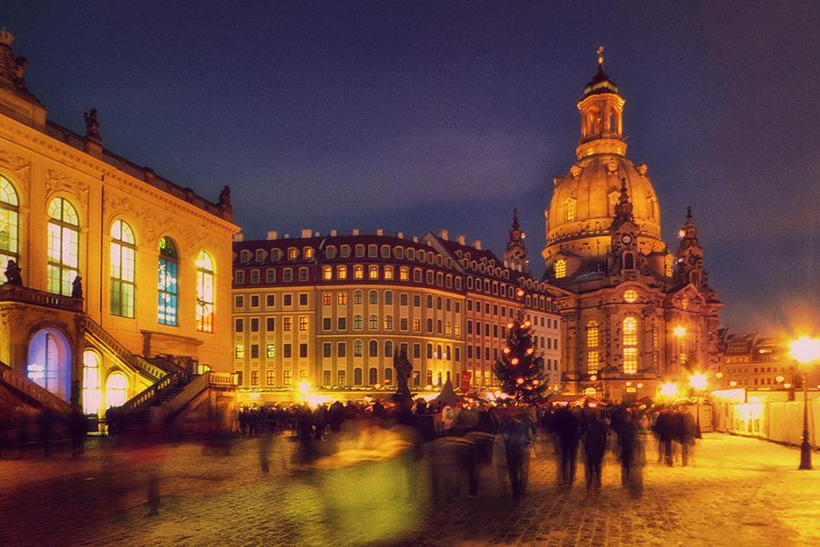 Weihnachtszeit in Dresden