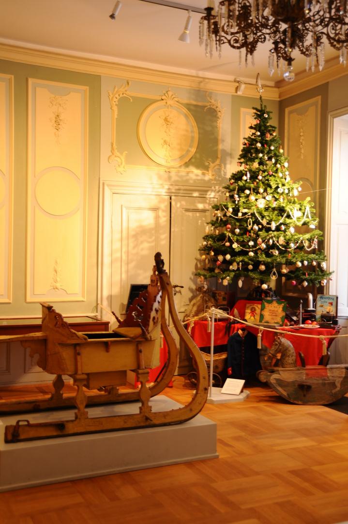 Weihnachtszimmer im Schloß Ratzeburg Foto & Bild   motive Bilder auf ...