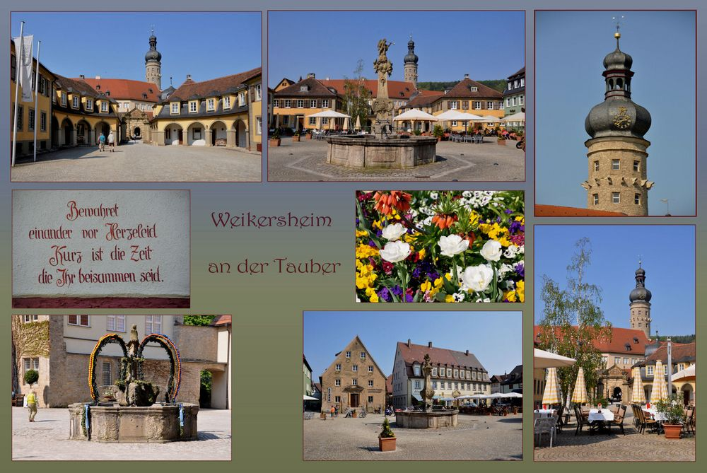 Weikersheim an der Tauber....