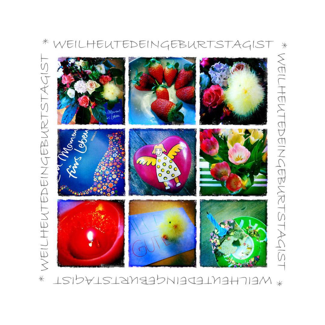 Weil Heute Dein Geburtstag Ist Foto Bild Texturen Bilder Auf