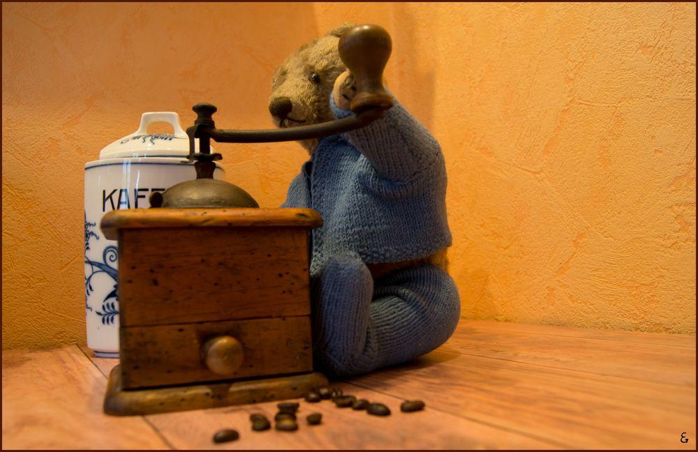 Weil ich krank bin macht Teddy für mich ...