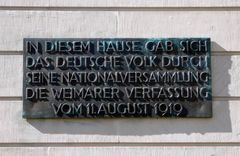 Weimar, auch ...